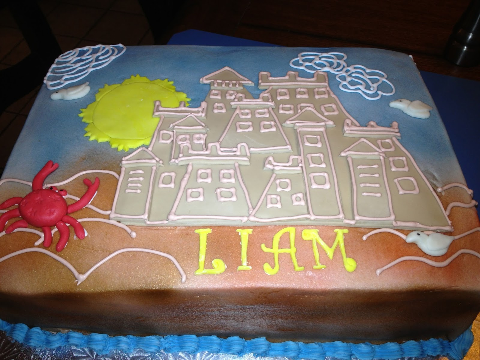 Learning To Fly Cakes And Pastries Liams Sand Castle