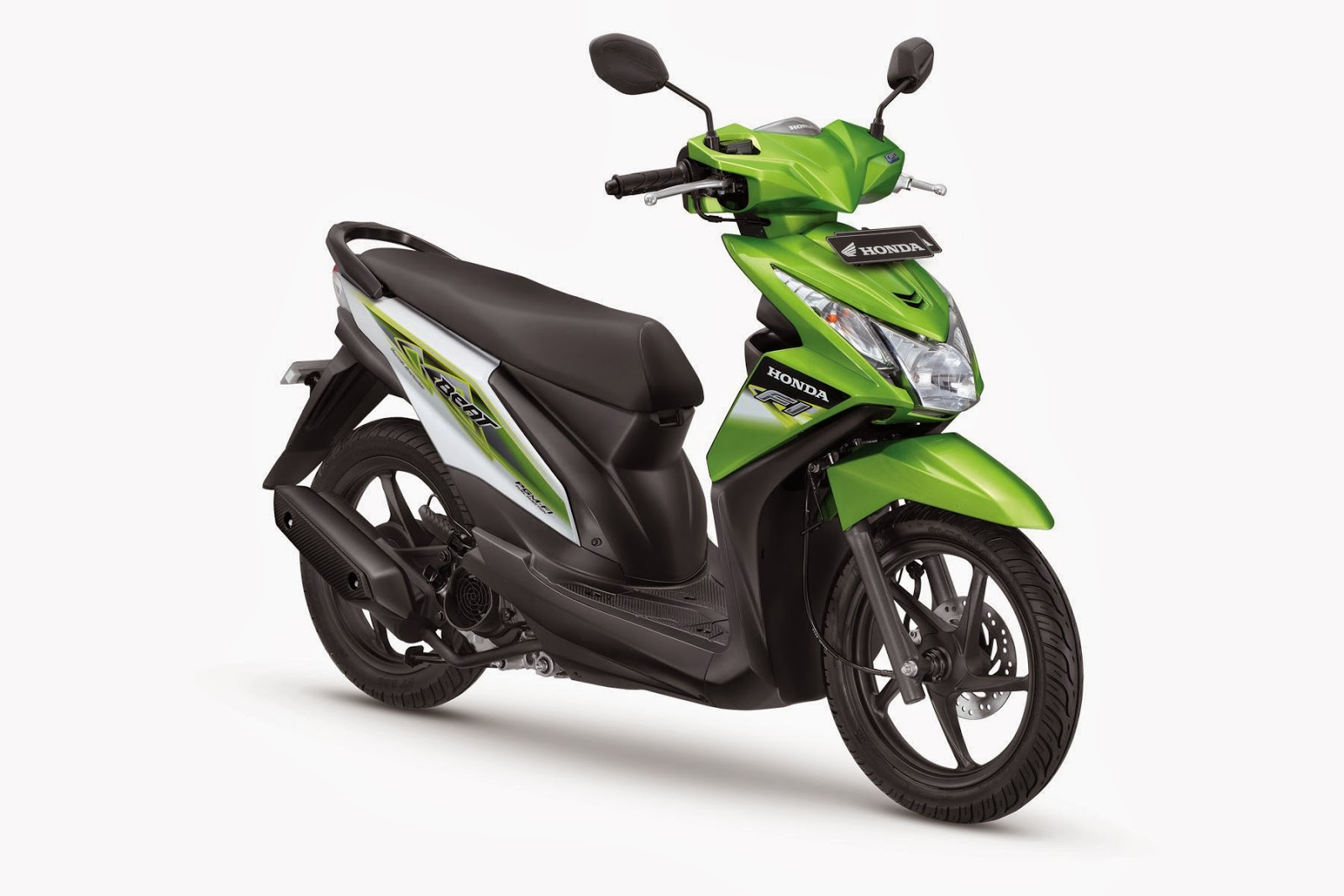 The All New Honda BeAT- FI CBS Disco Green
