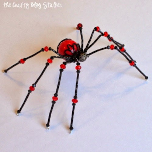 the beaded spider tutorial the crafty stalker
