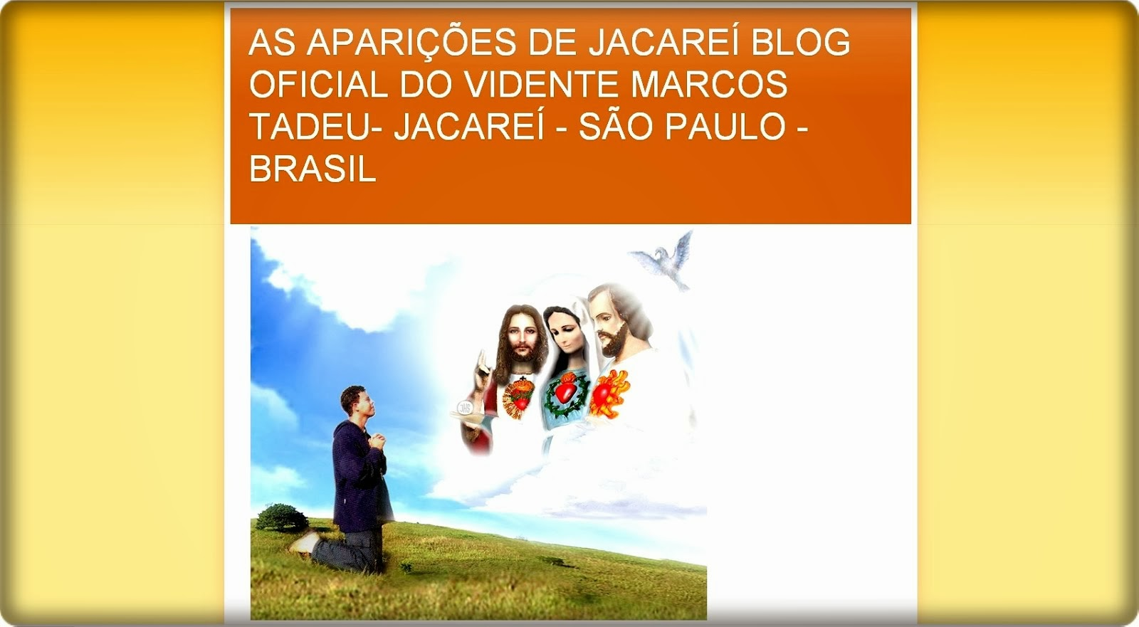 BLOG  OFICIAL  DO  VIDENTE MARCOS  TADEU  ! ! !