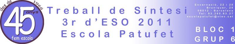 TS 3r d'ESO 1011 Bloc 1 - Grup 6