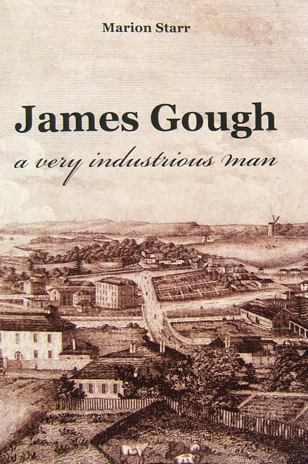 James Gough - the book Click on image for details