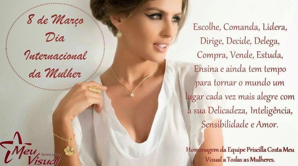 dia internacional da mulher Meu Visual