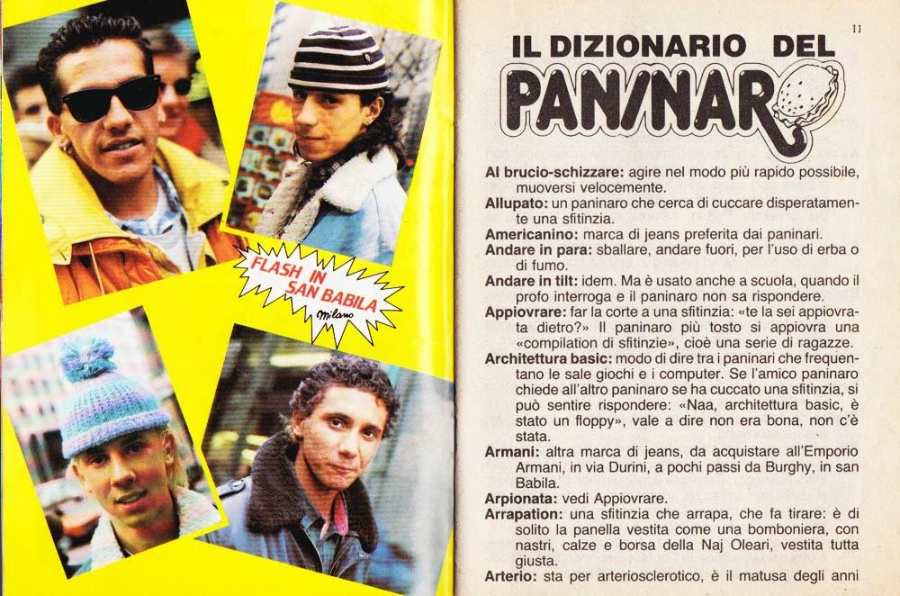 The Pretty Wild ? : Come parlavano i paninari negli anni '80: Il ...