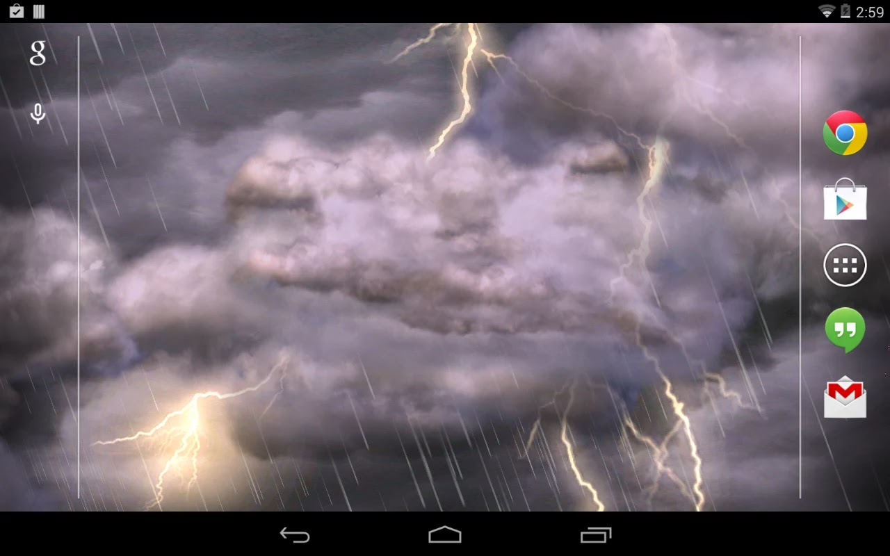 Thunderstorm Live Wallpaper v2.25