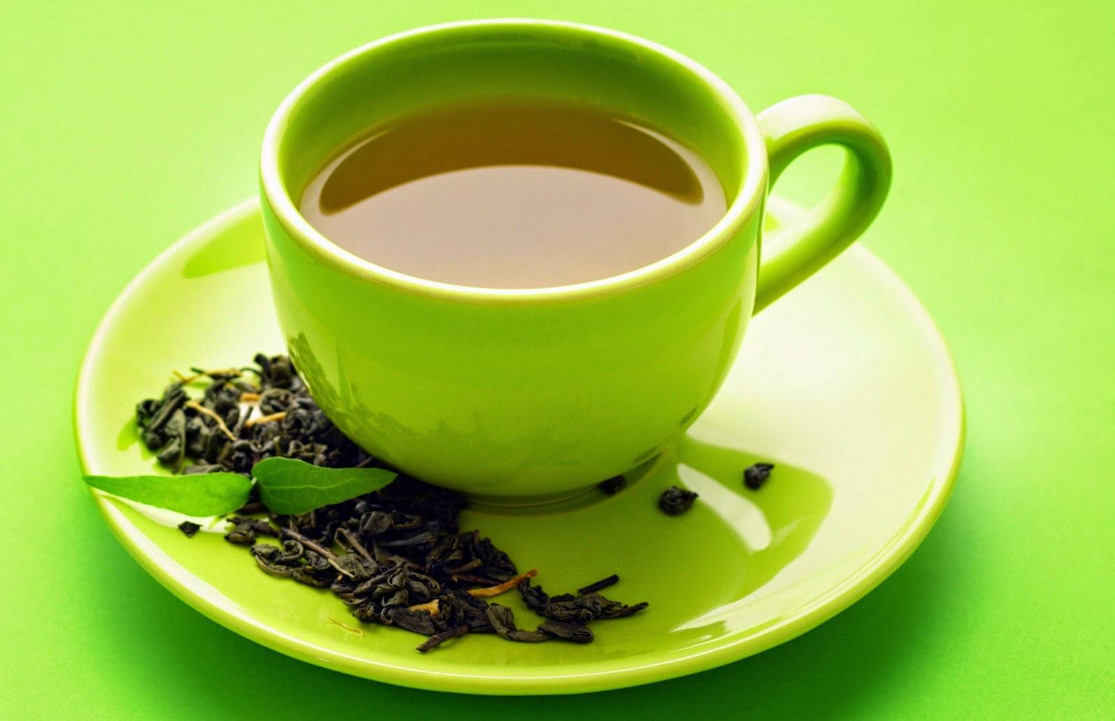 نصائح سريعة وطرق لتخفيف الوزن Green-Tea.jpg