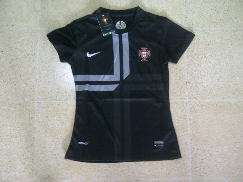 Jual Jersey Portugal 2014 Hitam for Ladies/Cewe