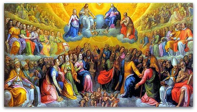 Resultado de imagen para el cielo los santos