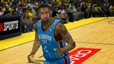 NBA 2K14 Kendrick Perkins Cyberface Patch