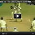 Shahid Afridi 1st Test Century 141 Vs India 1999
