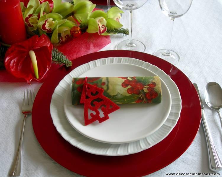 Decoracion de mesas diciembre 2012 - Decoracion de mesa en navidad ...