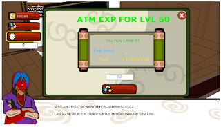 ATM XP FOR LVL 60