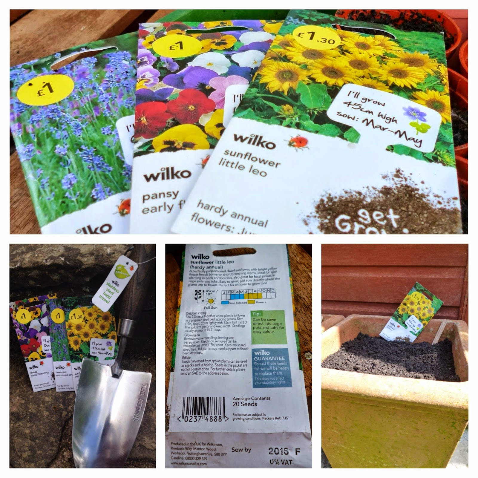 Gardening with Wilkinson