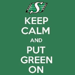 Keep Calm and Put Green On