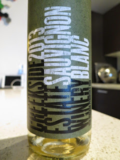 Wine review of 2013 Creekside Sauvignon Blanc from VQA Niagara Peninsula, Ontario, Canada