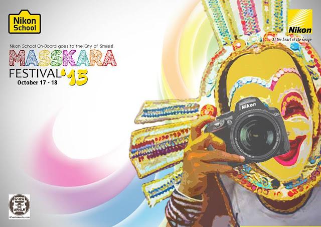Nikon School on-Board Goes to Masskara Festival 2015 in Bacolod City