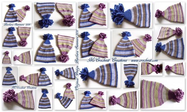 crochet patterns, how to crochet, baby hats, pom pom hats, pixie, elf, newborn,