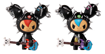 Cactus Rockers Vinyl Figures by Tokidoki - Red & Tokidoki Exclusive Blue