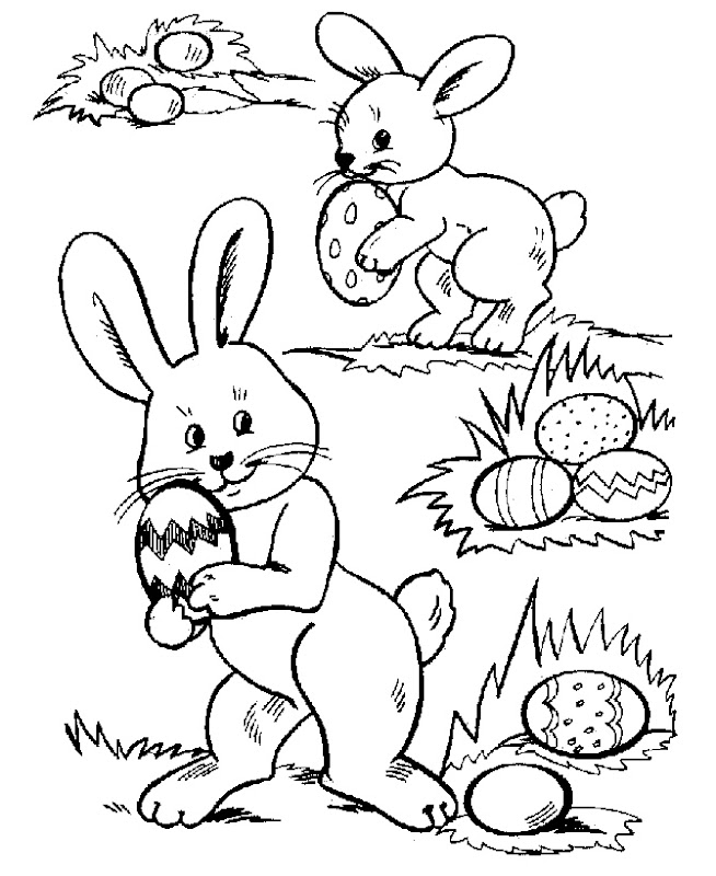 Free Easter Coloring Sheets title=