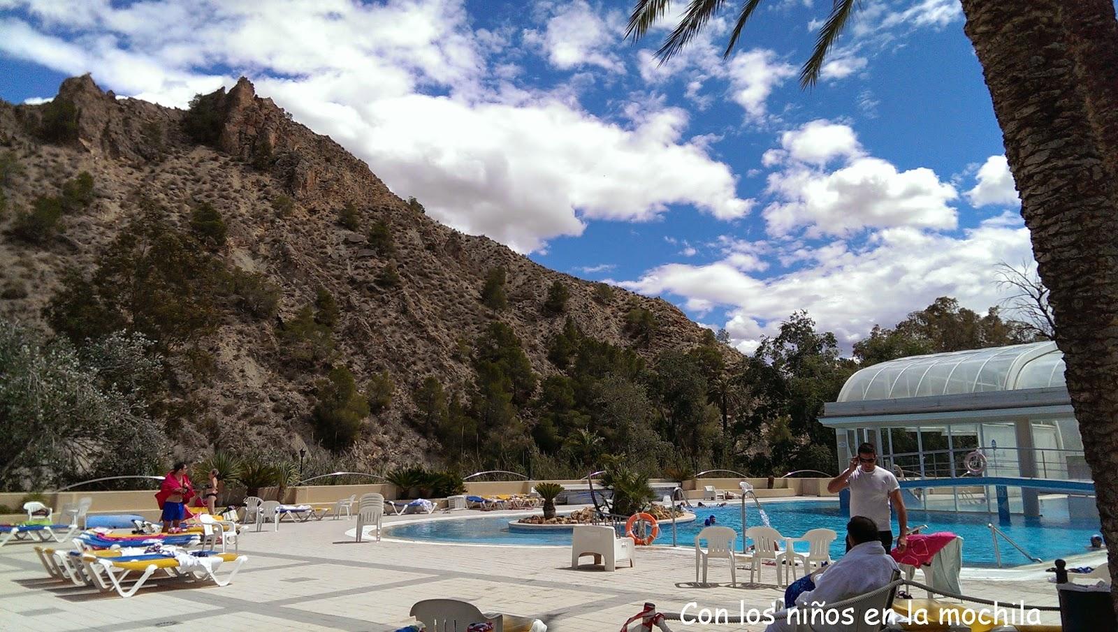 Baños Termales Ninos:Balneario de Archena: Aguas termales en familia