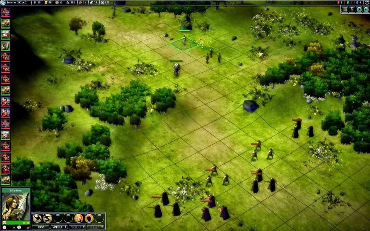 Fallen Enchantress Legendary Heros Screenshot PC game