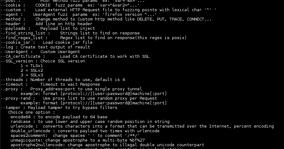 0d1n Open Source Web HTTP Fuzzing Tool And Bruteforcer