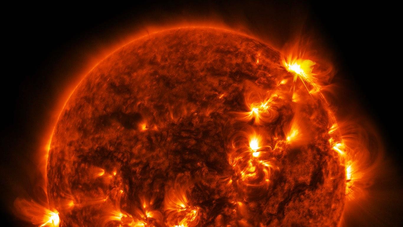 Solar flare (© NASA) 182