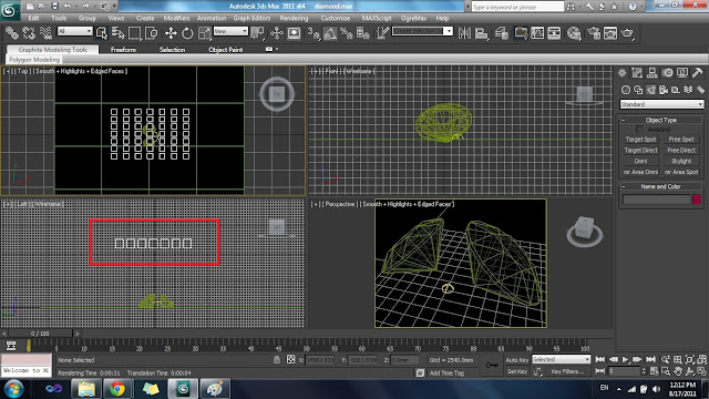how to change to white background 3ds max