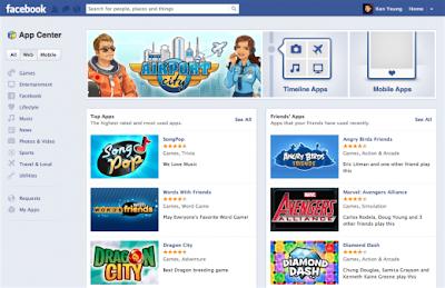 Game Paling Populer di Facebook 2012