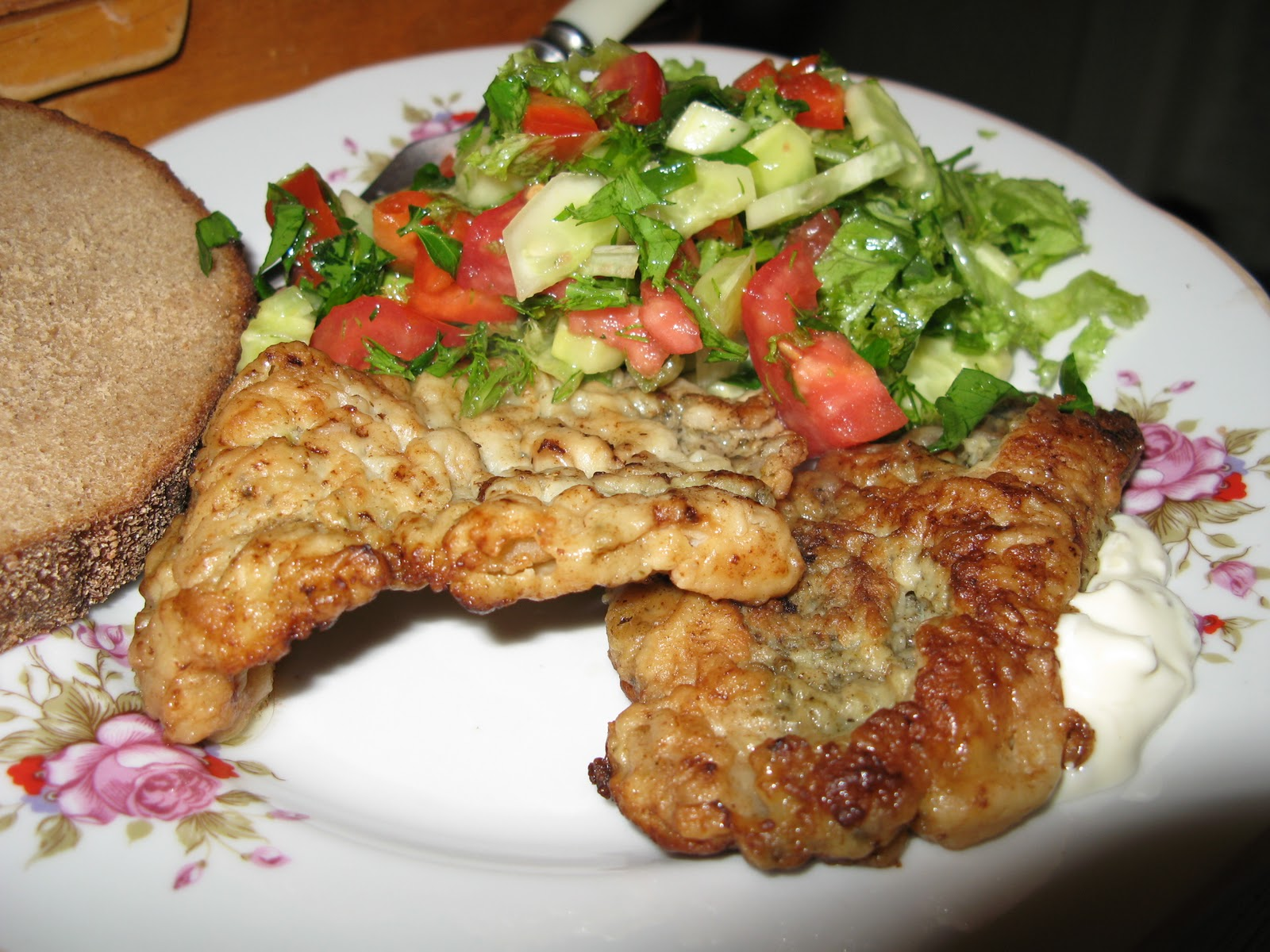 Рецепт куриной отбивной в кляре пошагово