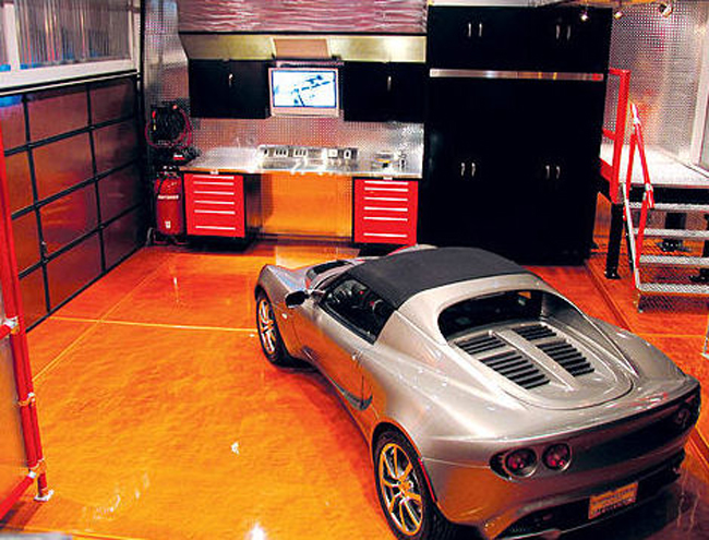 Garage interior design ideas to consider for Luxury garage interiors