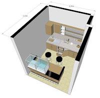 gambar desain kios minimalis 3d dan 2d warung makan - jasa