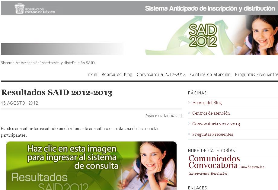 Resultados Said Secundaria Primaria Preescolar Edomex 2013 | Review ...