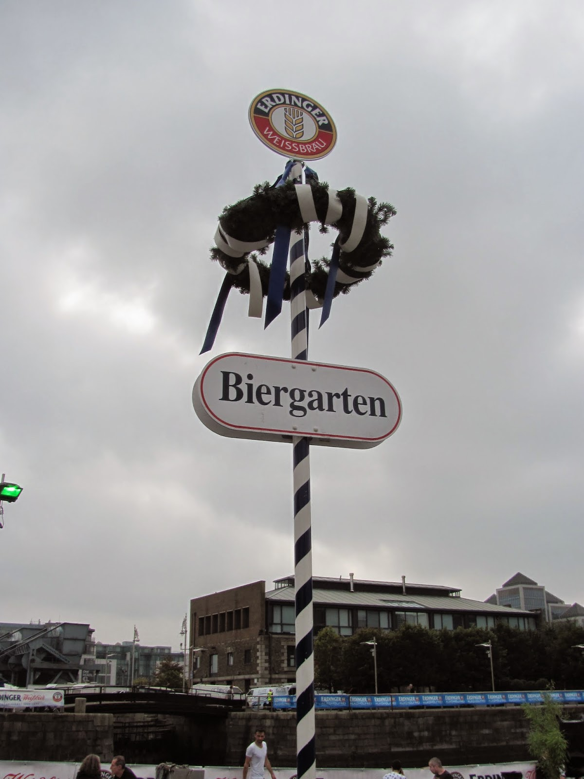 Bavarian Maypole at Oktoberfest Dublin 2014