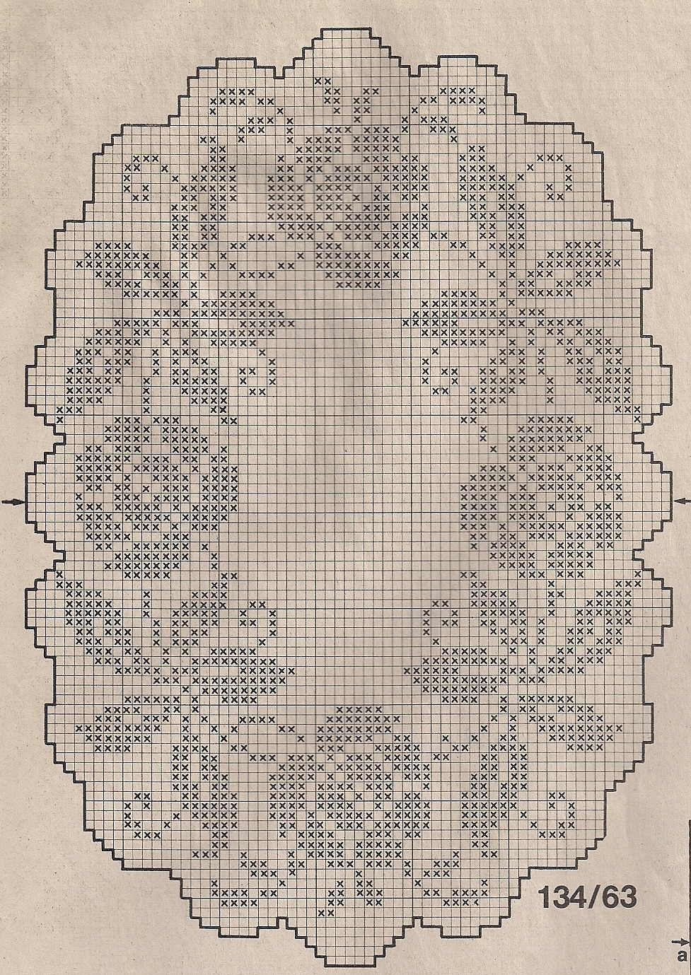Gráficos de bonitas carpetas tejidas a ganchillo