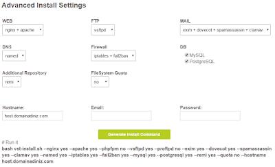Sunucu Yönetimi: CentOS için Vesta Control Panel Kurulumu