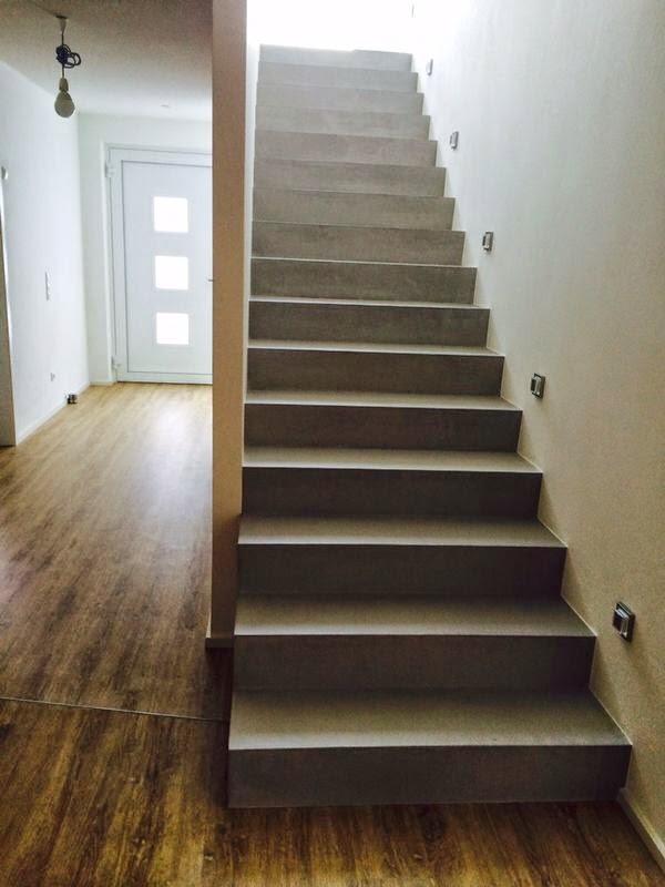 beton cire oberfl chen in beton look betontreppe besserbauen beton cire sichtbetontreppe. Black Bedroom Furniture Sets. Home Design Ideas
