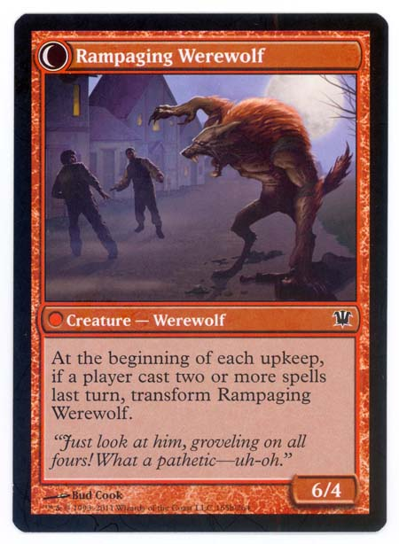 Magic the Gathering Adventures: Tutorial 15: Double sided ...