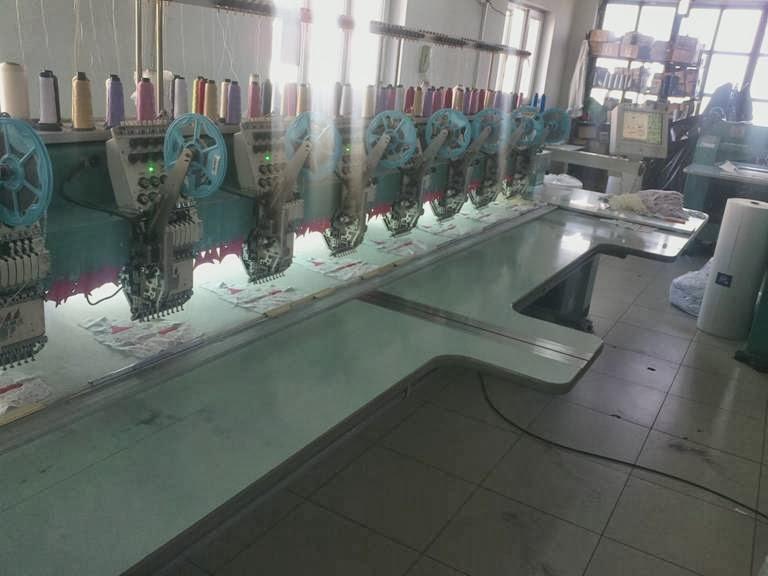 nakış makinaları - nakış işleme merkezi 3