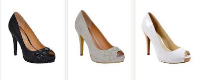 Zapatos de tacón finos