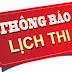 Lịch Thi Chứng Chỉ Anh Văn, Tin Học A-B-C ( CẬP NHẬT 03/08/2014 )