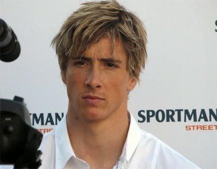 Foto Model  Rambut Fernando Torres