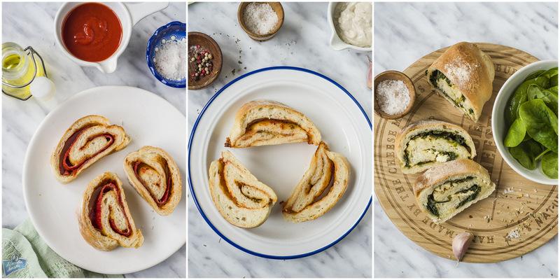 Przepis na roladę chlebową