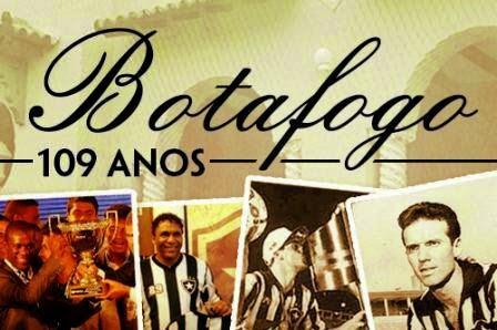Botafogo 109 anos