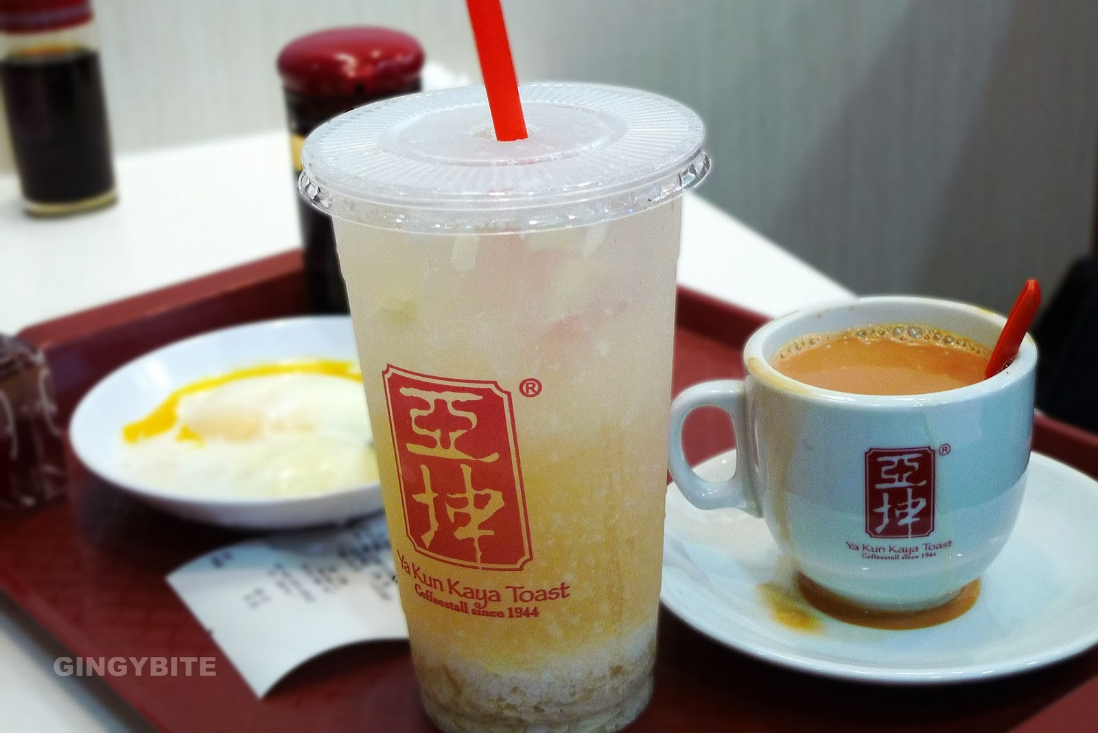 Cold Silky Barley and Hot Milk Tea