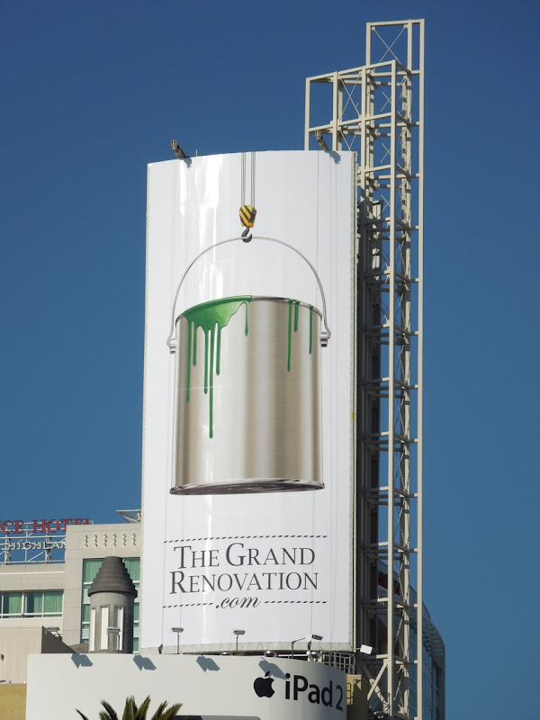 Grand Renovations website billboard