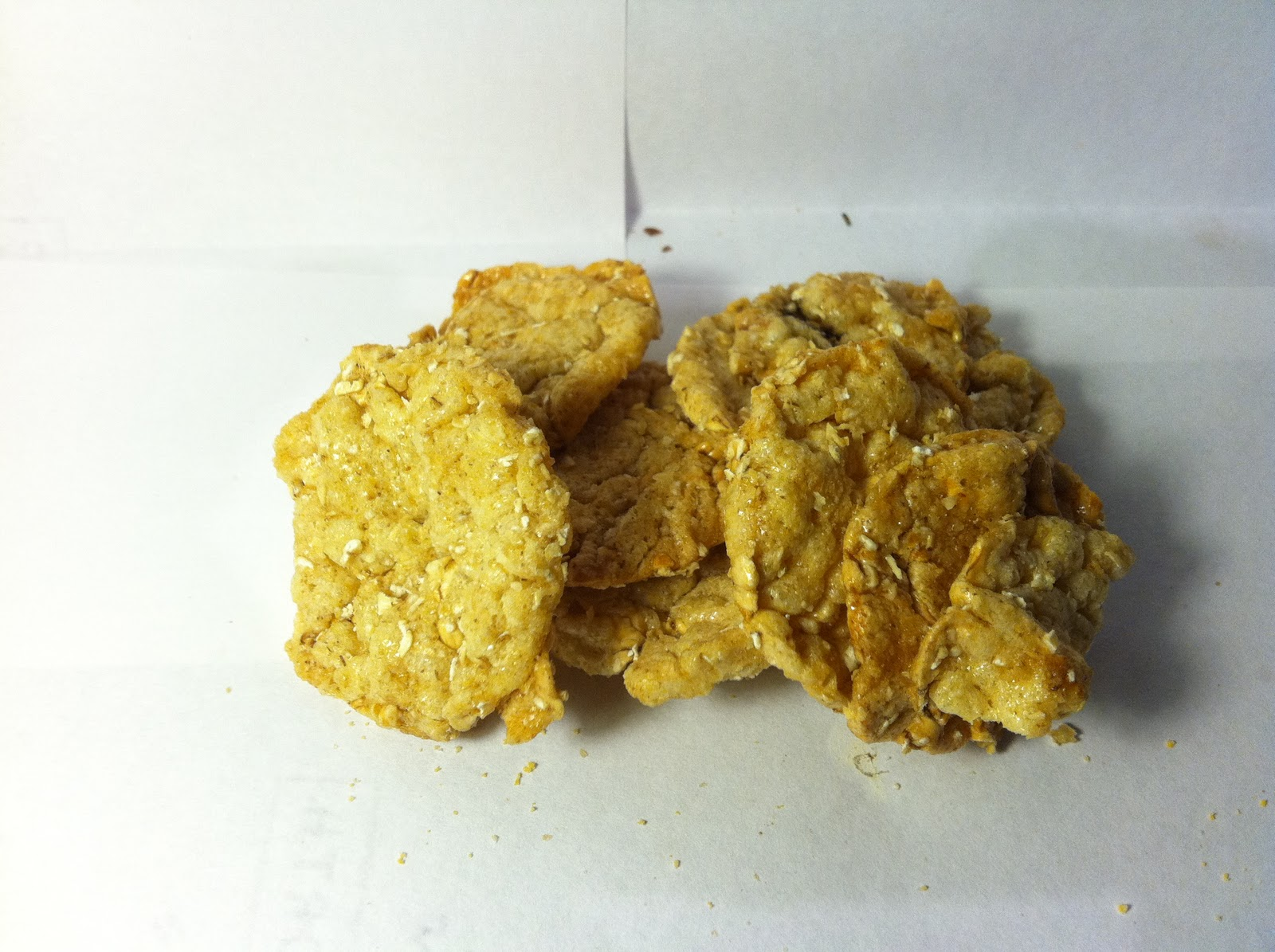 Multigrain Apple Crisps Recipe — Dishmaps