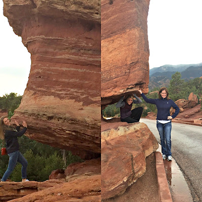Garden of the Gods Balancing Rocks
