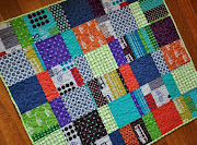 Echino baby boy quilt