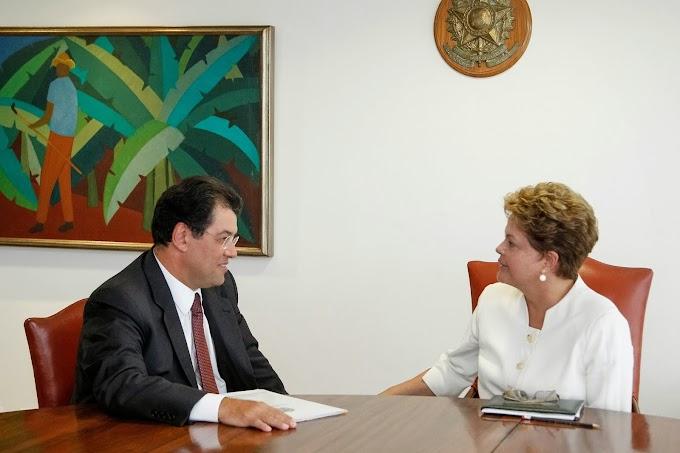 Dilma diz a Braga que torce pela união da base no Amazonas
